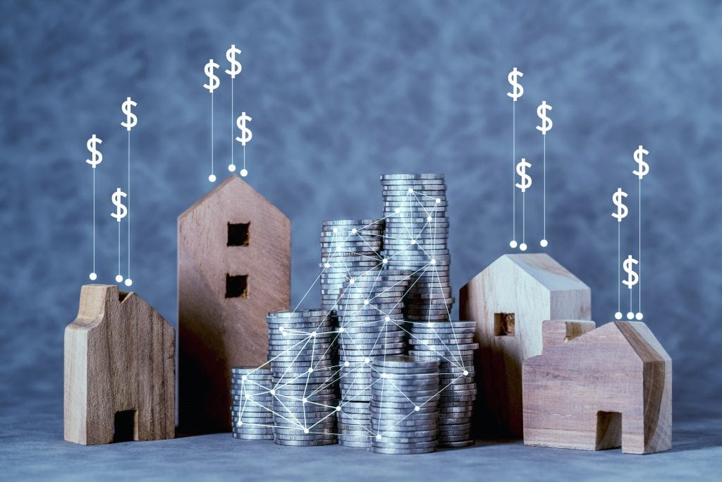 Assets, money or other financial assets and real estate